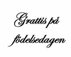 gefeliciteerd zweedse vertaling